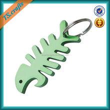 Fashion custom key ring finish bottle opener