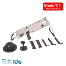 Shule S/S No.304 Mandolin Multi-function Chopper with 5 Stainless steel Blades