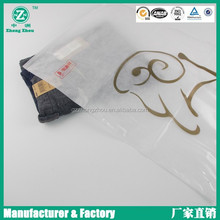 2015 NEW style zip lock plastic bag for clothes