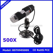 500X USB Digital Microscope,NO.352 digital microscopes educational