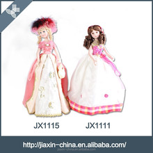 Nice princess doll cheap decorative ceramic table lamp