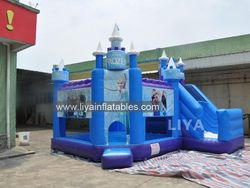 inflatable jumping castles with prices, inflatable moonwalks, multiple use Inflatable Combo with frozen