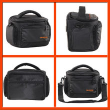 Black Medium SLR Camera Pouch Case/Bag with Strap for Canon EOS