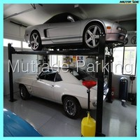 France USA Mutrade Four 4 Post Vertical Car Parking
