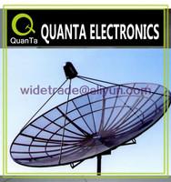 5m c band satellite dish parabolic mesh dish antenna