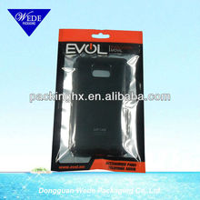 Top grade mobile phone case packing bags/Phone shell plastic bags