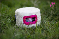 wholesale fur mouse inside sisal box for cat pet products