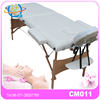 PVC couch cover for massage table 2 foldable with free carry case spa beauty