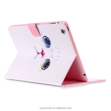 Cute cat hot sale tablet case for iPad 3/5/6 for iPad mini 1/2/3