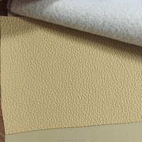 Anti scratch Motor grain leather for car interior