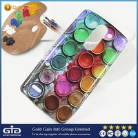 [GGIT] Water Printing Leather TPU Case Cover for LG G3 Mini Shining Matrial