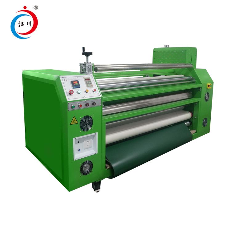 Tekstil Basın İçin 42cm Genişlik Geniş Formatlı Masa Örtüsü Rulo Baskı Isı Süblimasyonu Makinesi