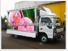 ail express P10 Outdoor 3-sided HD mobile truck LED Advertising display