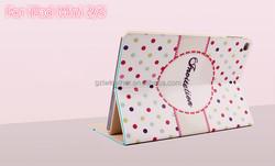 Cartoon PU leather case for iPad Mini 2/3,Tablet Cartoon Cover for iPad