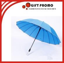 Aluminum Handle Straight Umbrella For Advertising