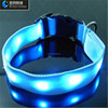 Double Sided Flashing dog led collar wholesale led collar