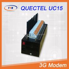 SMS Caster Quectel UC15 Bulk SMS 3G Modem Pool Serial 16 Port Modem
