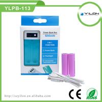 5200mah power bank ,universal li-ion 18650 battery and charger