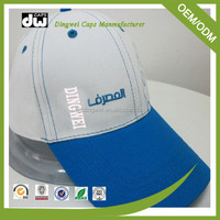 China high quality fitted custom embroidery 5 panel baseball cap and hats