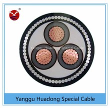6kV to 33kV MV HV XLPE SWA PVC Cable--SWA Cable Steel wire armoured power cable manufacturer