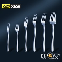 stainless steel fork , fruit fork , spoon and fork