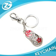 Fashion Shining Wholesale Custom Shoes Metal Keychain