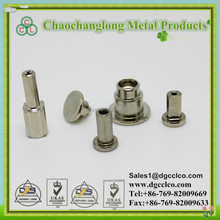 Hot sale /Iron/stainless steel/ aluminium/semi hollow tubular stair rivet