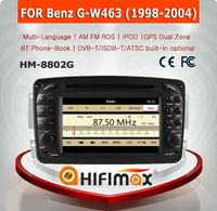 HIFIMAX WIN CE 6.0 Car DVD Player For Mercedes Benz G W463 1998-2004 Car Dvd GPS Navigation System