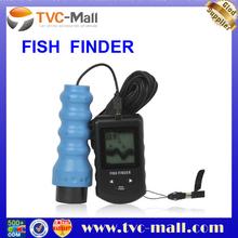 Portable Wireless Boat Dot Matrix Sonar Fish Finder