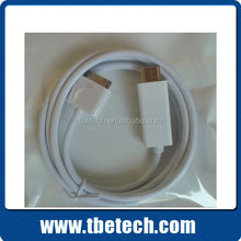 HDMI AV cable for iPad Audio video cable for iphone 4 30pin to HDMI AV cable