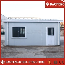 resist high winds disassemble luxury movable container prefabricated house
