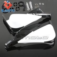 "HG-16-WT White ZJMOTO motorcycle fairings Brush Bar 7/8""/ 22mm motorcycle handguard"