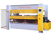 PLC hot press for veneer