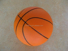 2015 customed colored rubber basketball for manufacturer