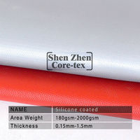 thermal insulation silicone fabric cloth fireproof curtain