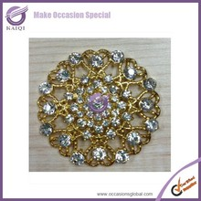16267 Wholesale Rhinestone Buckles Wedding Napkin Ring Buckle Bouquet Charm Crystal Buckles