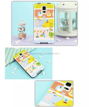 Colored drawing case for Samsung s5