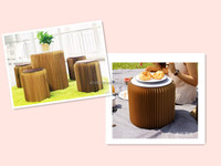 Green house present Foldable paper stool