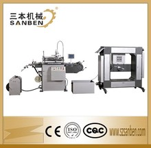 Electric Eye Control (SBS-320) 4200 times/h 1 Color Automatic Label Roll to Roll Screen Printing Machine with UV Dryer & Servo