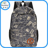 design backpack shoulder bag canvas bag canvas backpacks for teenage girls cute canvas school backpack