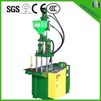 2015 15T-25T Standard vertical small sized plastic Injection Molding Machine , electrical plug injection machines