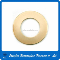 Factory supply environmental plain brass lock washer with different sizes