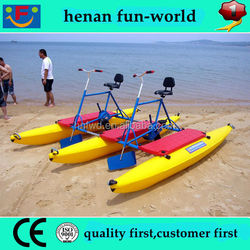 Plastic water sport equipment water bike for sale for water theme park
