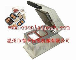 HS-200 manual tray sealer sealing machine for tray