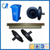Manufacturer Made High Quality Rubber Products Garbage Bin Wheel 8 Inch