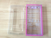 2015 most popular clear cell phone case plastic blister packaging box for mobile phone shell,electronics accessories