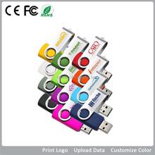 Cheap logo swivel usb flash drive 1gb, 2gb, 4gb, 8gb, 16gb, 32gb