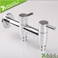 Laundry Faucet Brass Double Bibcock for Washing Machine