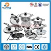Excellent Value Stainless Steel Cookware Sets Heats Quickly And Evenly For Faster Cooking And Great Taste