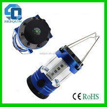 Quality new coming rechargeable camping lantern an fan